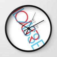 3d Wall Clocks featuring 3D. by Grant Pearce
