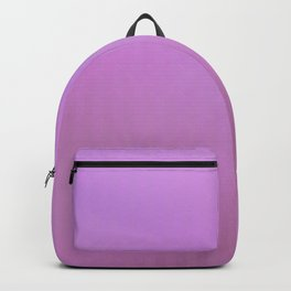 Abstract geometric pink lavender gradient pattern Backpack