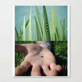 Green Indeed Canvas Print