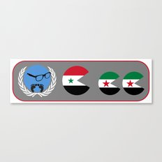 United Nations is watching Syria Canvas Print