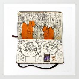 The Last Supper (Squirrel) Art Print