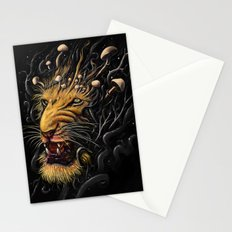 Lion Stationery Cards