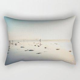 San Diego Scripps Beach Rectangular Pillow