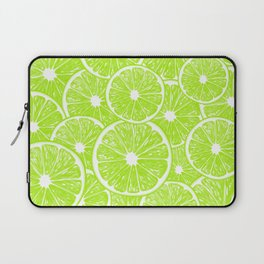 Lime slices pattern Laptop Sleeve
