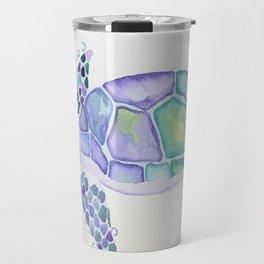Bubbly Turtle Travel Mug