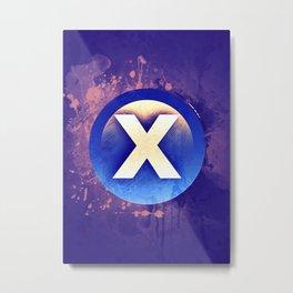 X Xbox button Metal Print