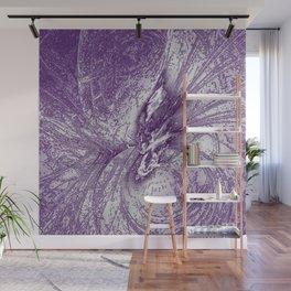 Splatter in Grape Wall Mural