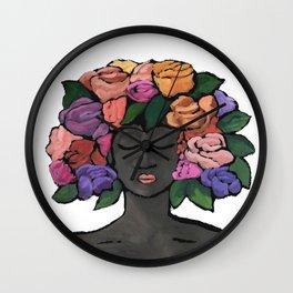 Floral Dreaming II / Summer Wall Clock