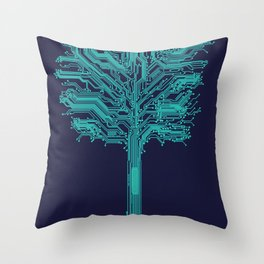 Trunklines Throw Pillow