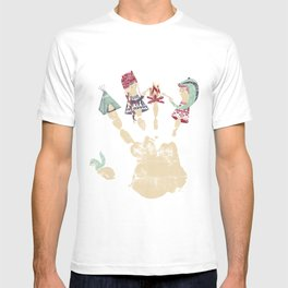 MARSHMALLOWS & CAMPFIRESa T-shirt
