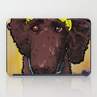 poodle iPad Cases featuring Hobbes (poodle) by BinaryGod.com