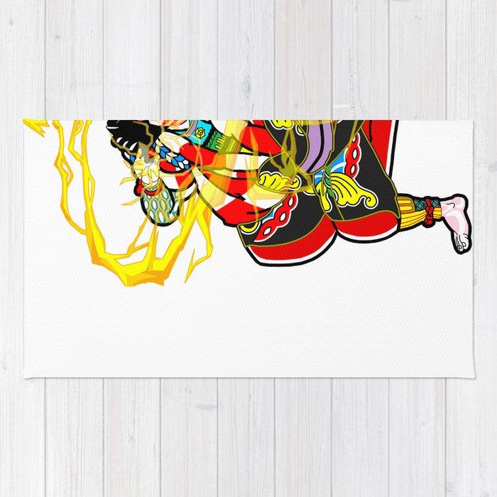 "Kabuki ""lightning arrow"" Rug"