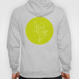 Kissing Lines no 3 Hoody