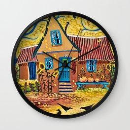 I Love Fall Wall Clock