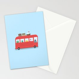 Funny Bus Stationery Cards