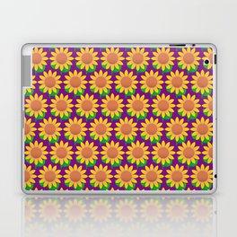 Sunflower Pattern_G Laptop & iPad Skin