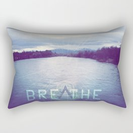Breathe in the Beauty of Nature Rectangular Pillow