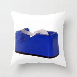 Tape Dispenser Throw Pillow