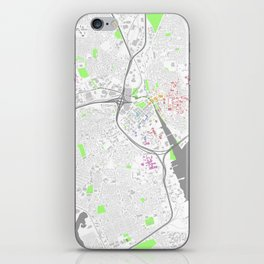 Providence Map Poster iPhone Skin