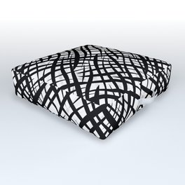 13 black and white Outdoor Floor Cushion