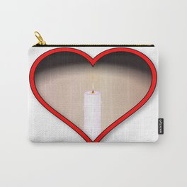 Love Candles Carry-All Pouch