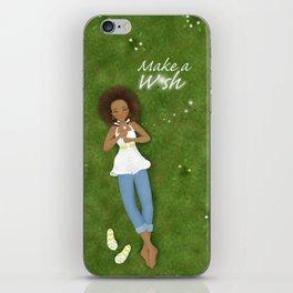 Make a Dandelion Wish iPhone Skin