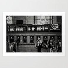Grand Central Saturday Art Print