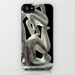 Amnon and Tamar by Shimon Drory iPhone Case