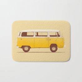 Yellow Van 1 Bath Mat