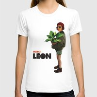 leon T-shirts featuring Mathilda, Leon the Professional by Ananas Art Shop