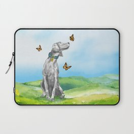 KIKI AND BUTTERFLIES Laptop Sleeve
