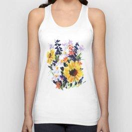 Sunflower Bouquet Unisex Tank Top