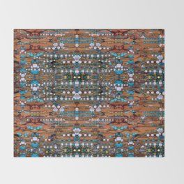 Abstract Indian Boho Throw Blanket