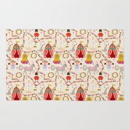 Circus time - Fabric pattern Rug