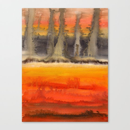 Improvisation 18 Canvas Print