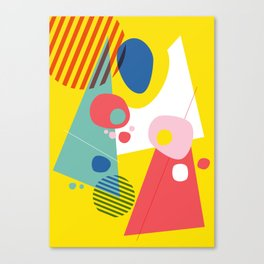 Abstract Pop III Canvas Print