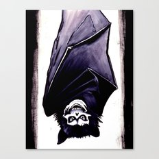 This Side Up Canvas Print