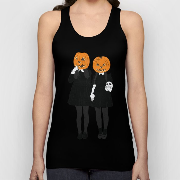 Pumpkin Heads Unisex Tank Top