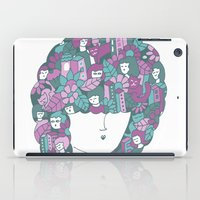 hair iPad Cases featuring Hair by Regina Rivas Bigordá