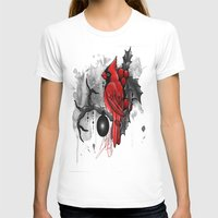 cardinal T-shirts featuring Cardinal. by SynthiaManson