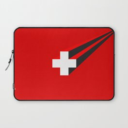 THE SWISS ARE COMING Laptop Sleeve