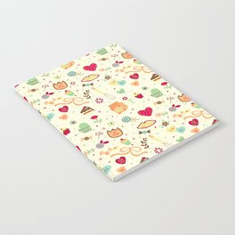 Cake Pattern Notebook