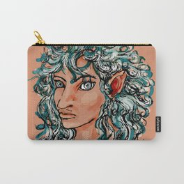 Female elf profile 1d ver. 2 Carry-All Pouch