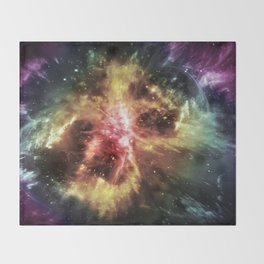 Mitosis of the Universe Throw Blanket