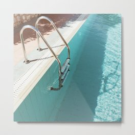 Swimming Pool IV Metal Print