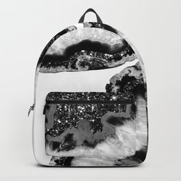 Yin Yang Agate Glitter Glam #3 #gem #decor #art #society6 Backpack