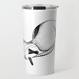 Happy Little Slug Travel Mug