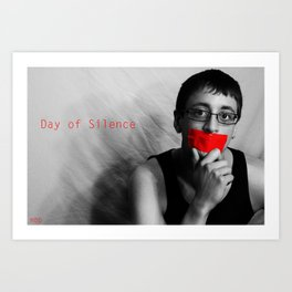 Day of Silence (Derreck).  Art Print
