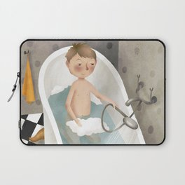 Bath time Laptop Sleeve