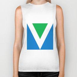Official Vegan Flag Biker Tank